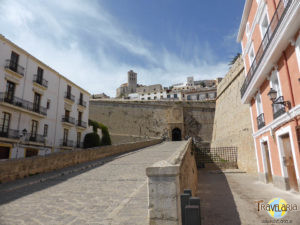 Ibiza Stadt: Festung.