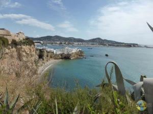 Ibiza Stadt: Bucht.