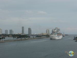 Bahamas Cruise: Miami Harbour.