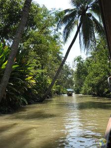 Damnoen Saduak Floating Market. (1)