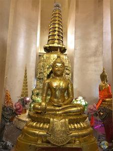 Gold Mount: Buddha.