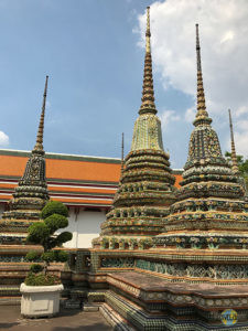 Wat Pho: Chedi Rai. (1)