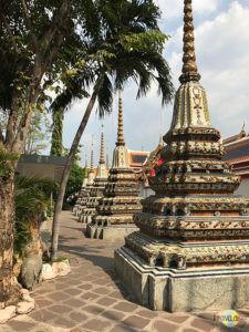 Wat Pho: Chedi Rai. (2)