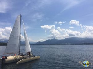 Chiemsee: Schifffahrt zur Herreninsel.
