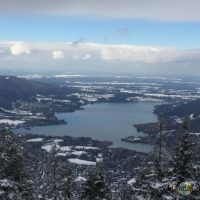 Tegernsee: Wallberg Panorama (Winter 2016).
