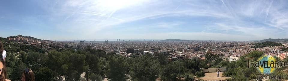Parc Güell: Panorama.