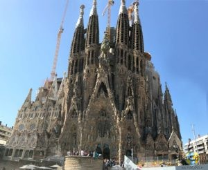 La Sagrada Familia: Geburtsfassade.