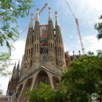 La Sagrada Familia: Baustand 2012.