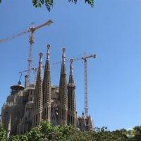 La Sagrada Familia: Baustand 2017.