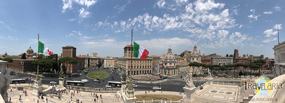 Piazza Venezia –Panorama.
